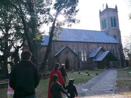 Kirche Murree kor