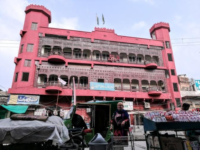 Rawalpindi rosa Haus und ich
